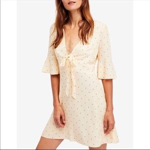 Free people all yours mini dress size 6